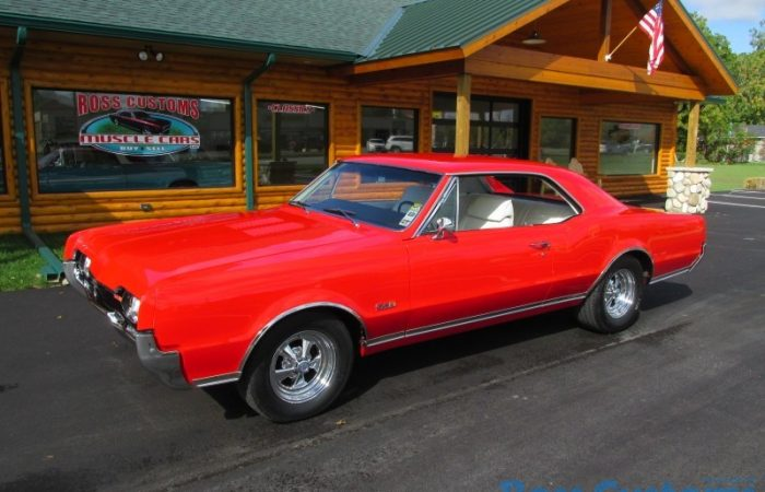 SOLD SOLD - 1967 Oldsmobile Cutlass 442 - #'s match