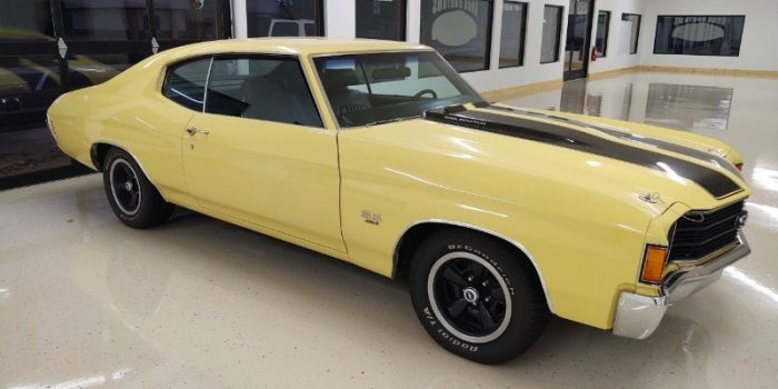 JUST IN - 1972 Chevrolet Chevelle SS 454 - 4 speed - W code