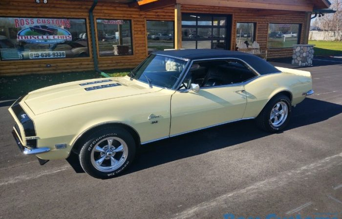 SOLD SOLD - 1968 Chevrolet Camaro RS/SS 396 - 4 speed