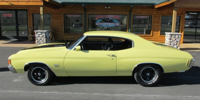 "SOLD SOLD - 1972 Chevrolet Chevelle SS - ""W"" code - 454 - 4 speed"