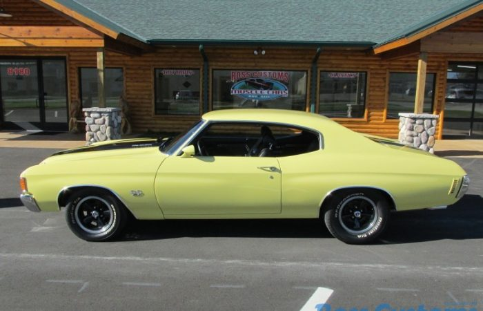 """SOLD SOLD - 1972 Chevrolet Chevelle SS - """"W"""" code - 454 - 4 speed"""