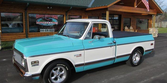 SOLD SOLD - 1972 Chevrolet Cheyenne 454 short-box