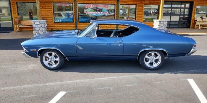 SOLD SOLD - 1968 Chevrolet Chevelle SS 396 - 4 speed - 138 VIN