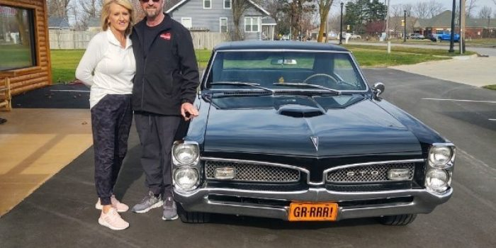SOLD SOLD - 1967 Pontiac GTO - #'s match - PHS documented