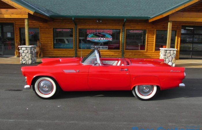 SOLD SOLD - 1955 FORD THUNDERBIRD