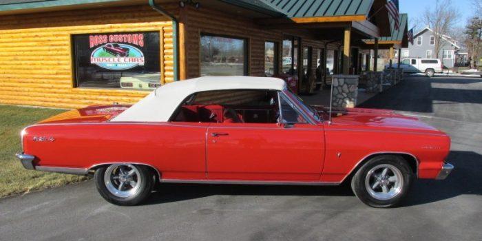 FOR SALE - 1964 Chevrolet Chevelle Malibu SS Convertible - $29,900