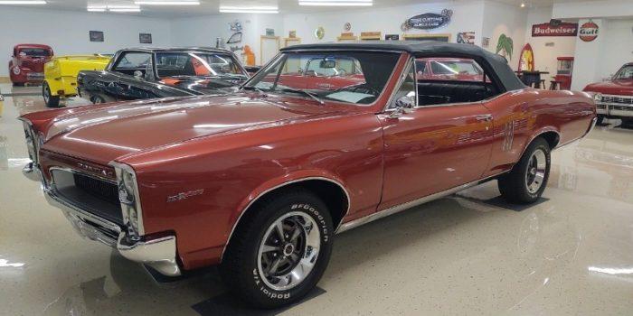 JUST ARRIVED - 1967 Pontiac LeMans Convertible 389