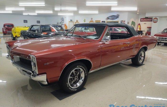 SOLD SOLD - 1967 Pontiac LeMans Convertible 389