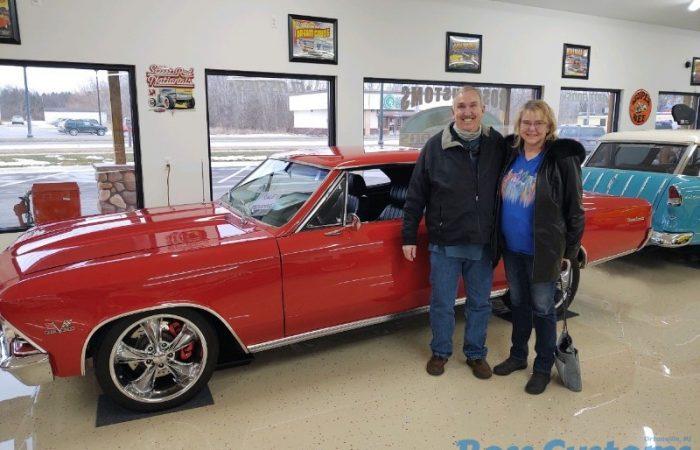 SOLD SOLD - 1966 Chevrolet Chevelle SS Resto-Mod - LS 6 speed
