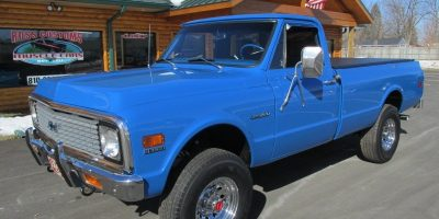 SALE PENDING - 1971 Chevrolet Custom 20 4x4 Pickup