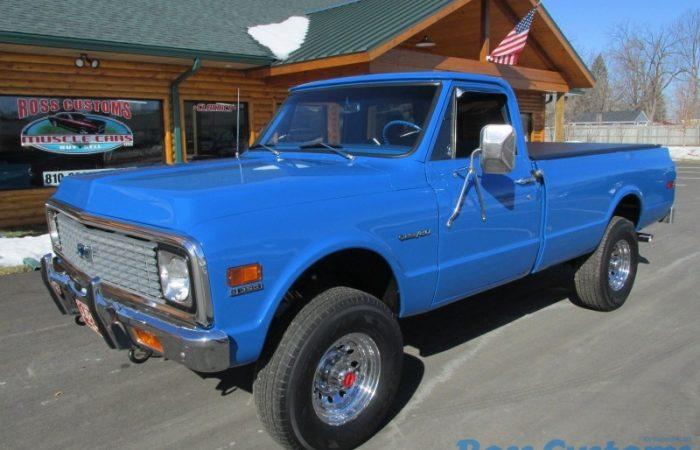 SOLD SOLD - 1971 Chevrolet Custom 20 4x4 Pickup