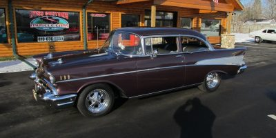 FOR SALE - 1957 Chevrolet Bel Air - 2 door post - $45,900