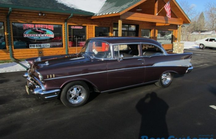 FOR SALE - 1957 Chevrolet Bel Air - 2 door post - $45,900