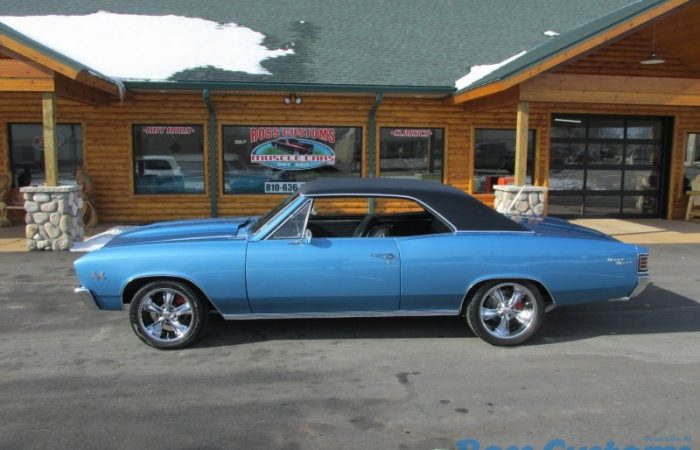 SOLD SOLD - 1967 Chevrolet Chevelle SS - Resto-Mod