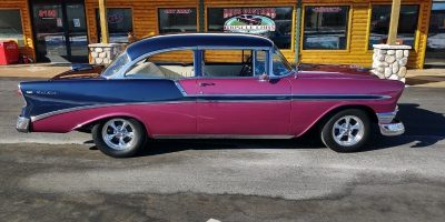 SOLD SOLD - 1956 Chevrolet Bel Air - 2 door post