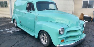 COMING SOON - 1954 Chevrolet 3100 Panel