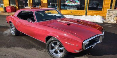 JUST ARRIVED - 1968 Pontiac Firebird 400 -$37,900