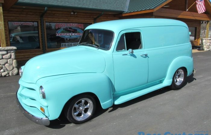 FOR SALE - 1954 Chevrolet 3100 Panel - $36,900