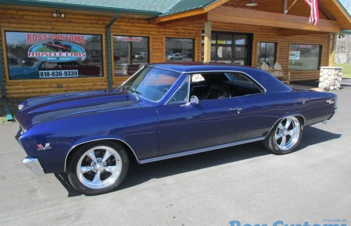 SOLD SOLD - 1967 Chevrolet Chevelle SS Resto-Mod