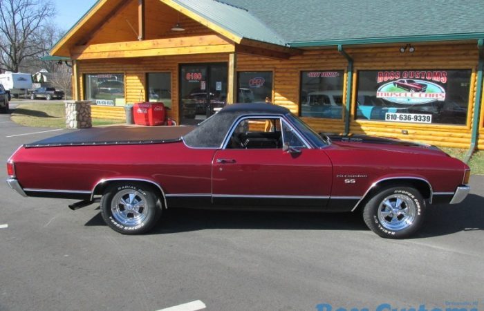 FOR SALE - 1972 Chevrolet El Camino SS 350 - 4 Speed - $27,900