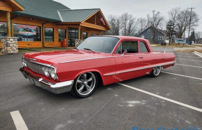 SOLD BEFORE ADVERTISED - 1963 Chevrolet Biscayne Custom