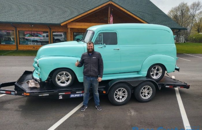 SOLD SOLD - 1954 Chevrolet 3100 Panel