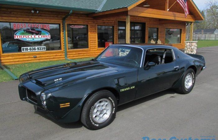 SOLD SOLD - 1973 Pontiac Formula Trans AM