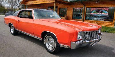 FOR SALE - 1972 Chevrolet Monte Carlo - $29,900