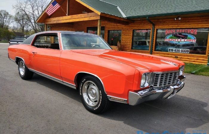 FOR SALE - 1972 Chevrolet Monte Carlo - $29,900
