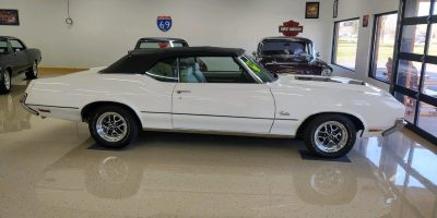 JUST ARRIVED - 1972 Oldsmobile Cutlass - Convertible