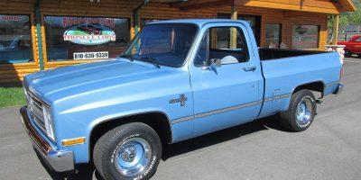 FOR SALE - 1984 Chevrolet C10 Silverado - Shortbox - $21,900