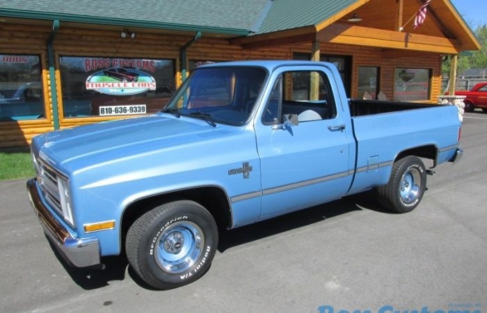 FOR SALE - 1984 Chevrolet C10 Silverado - Shortbox - $21,900