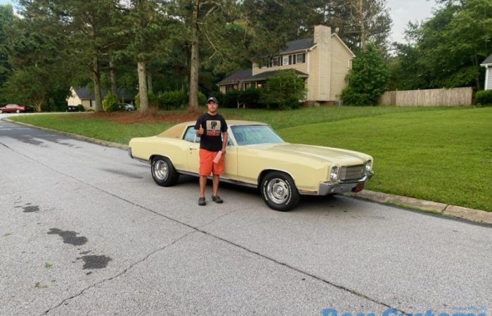 SOLD SOLD - 1970 Chevrolet Monte Carlo 454