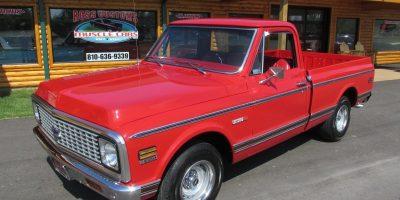 SOLD SOLD - 1972 Chevrolet Cheyenne C10 Shortbox
