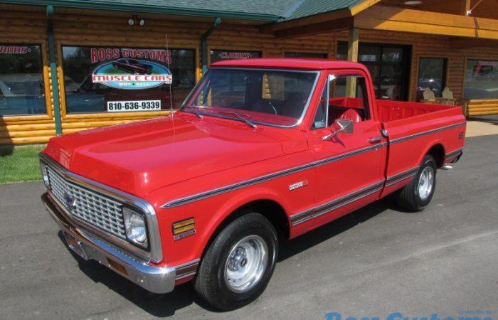 FOR SALE - 1972 Chevrolet Cheyenne C10 Shortbox - $39,900