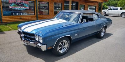 JUST ARRIVED - 1970 Chevrolet Chevelle SS 454