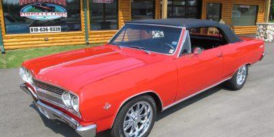 SOLD SOLD - 1965 Chevrolet Chevelle Malibu SS - Convertible - 138 VIN - LS Resto-Mod
