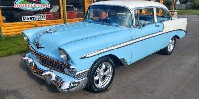 FOR SALE - 1956 Chevrolet Bel Air - 2 door - Post - $51,900