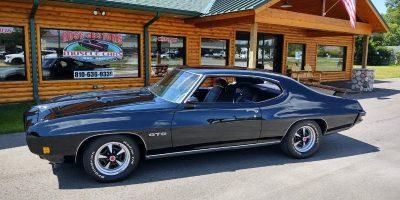 NEW ARRIVAL - 1970 Pontiac GTO 400 - 4 speed