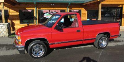 FOR SALE - 1996 Chevrolet Silverado - Short Box - $21,900